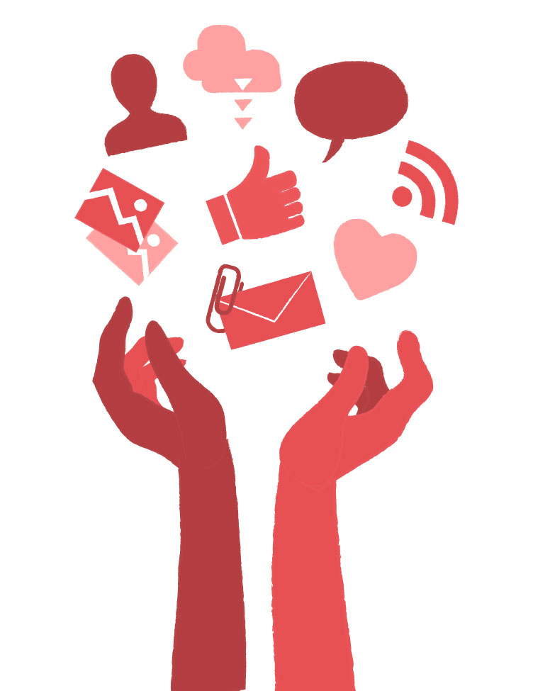 Social Sharing Free Vector