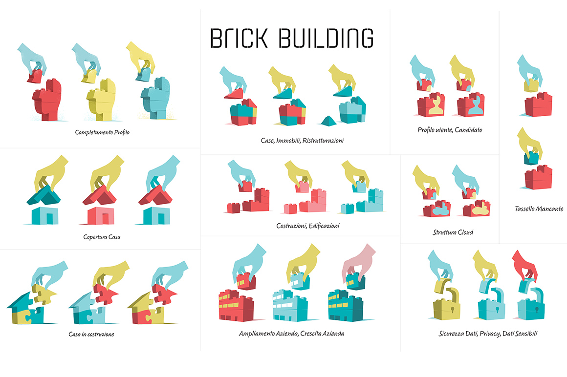 Brick Building Full Collection