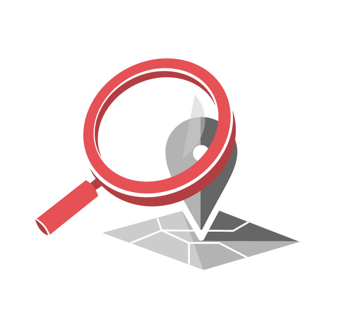 Search Location Free Clipart