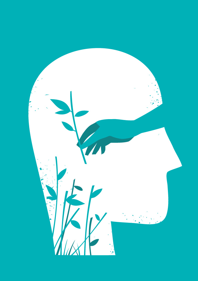 Flora Thoughts Free Vector Art