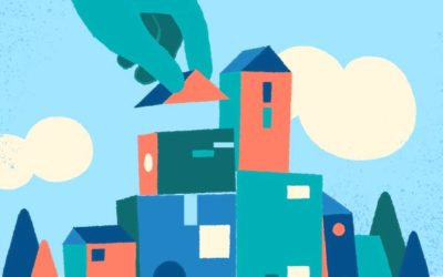 Little Town Free Vector Art