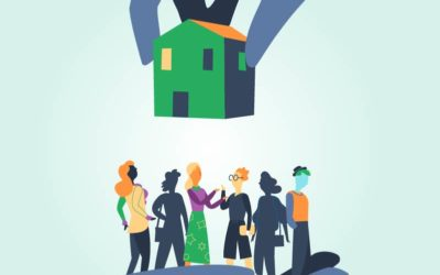 House for People Vector Art
