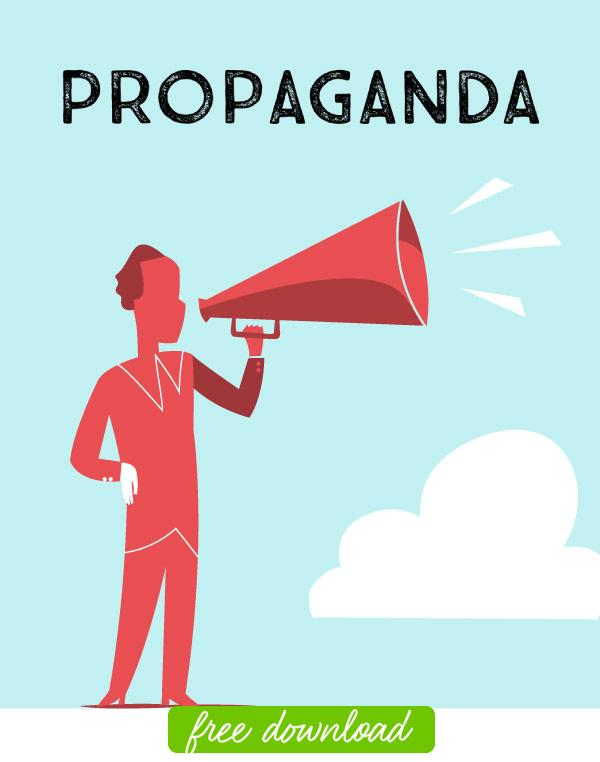 propaganda and advertising essay Propaganda—information that is intended to persuade an audience to accept a particular idea or cause, often by using biased material or by stirring up emotions—was one of the most powerful tools the nazis used to accomplish these goals hitler and goebbels did not invent propaganda.