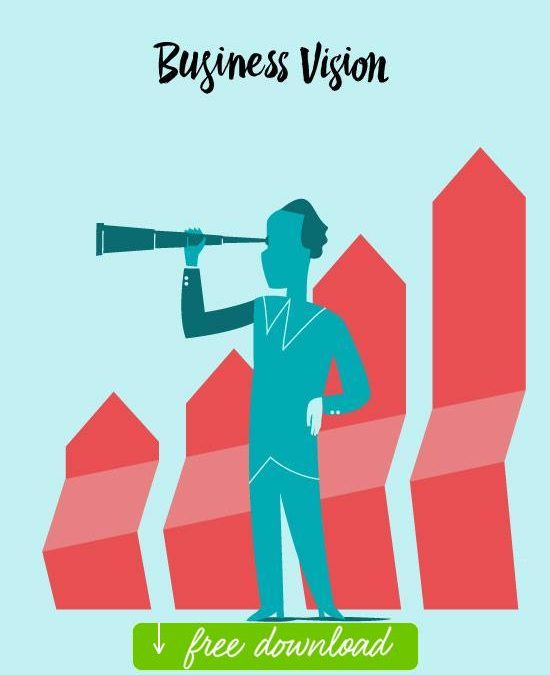 Business Vision Vector art for free download