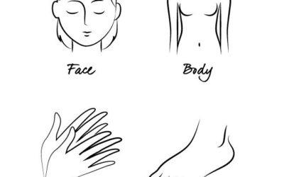 Face Body Hands Feet