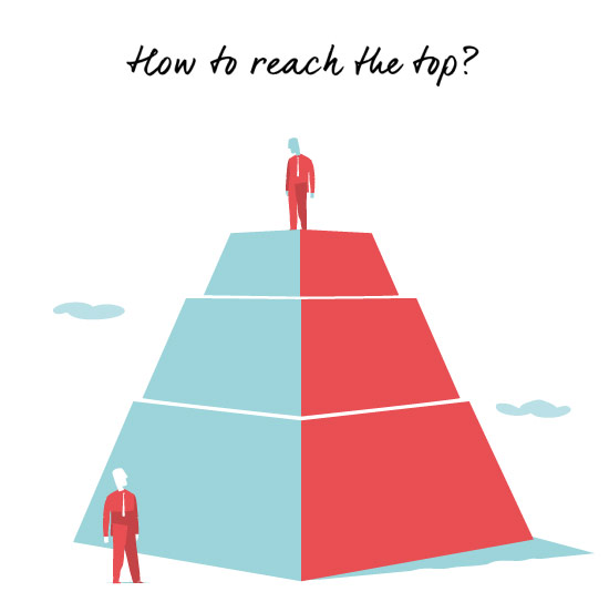 How to Reach the Top