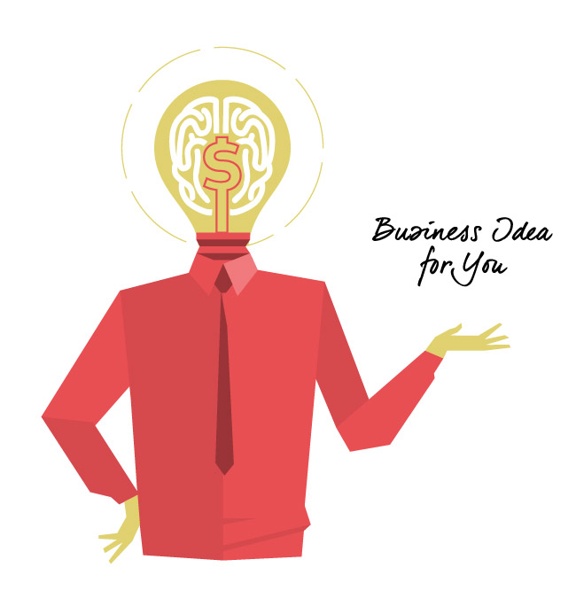 Download Business Idea for You vector art by Hurca.com