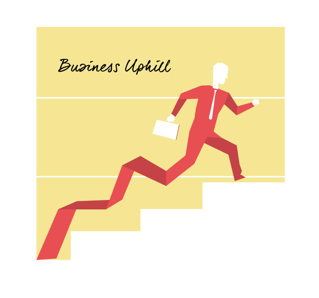 Business Uphill