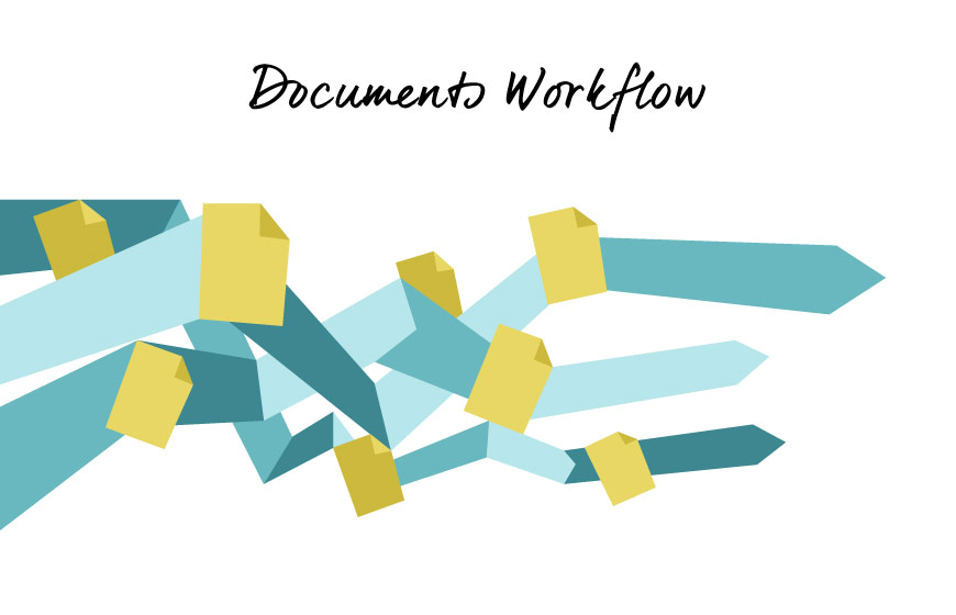 Download Documents Wokflow vector art by Hurca.com