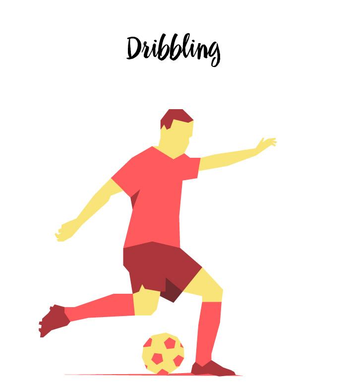 Soccer Dribbling Moves
