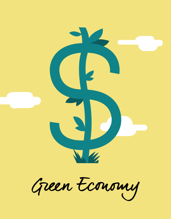 Download Green Economy vector icon by Hurca.com