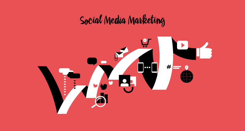 Social Media Marketing vector art