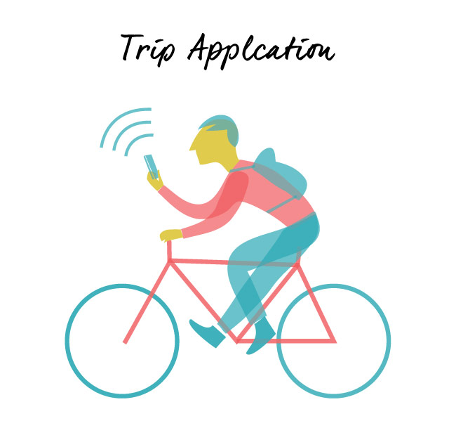 Download Trip Application vector art by Hurca.com