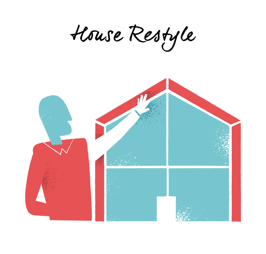Renovate House Covering vector clipart by Hurca.com