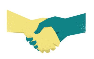 Shake the Hand free vector art