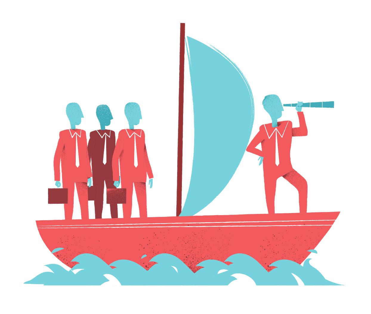 download leader navigator vector art series by Hurca.com