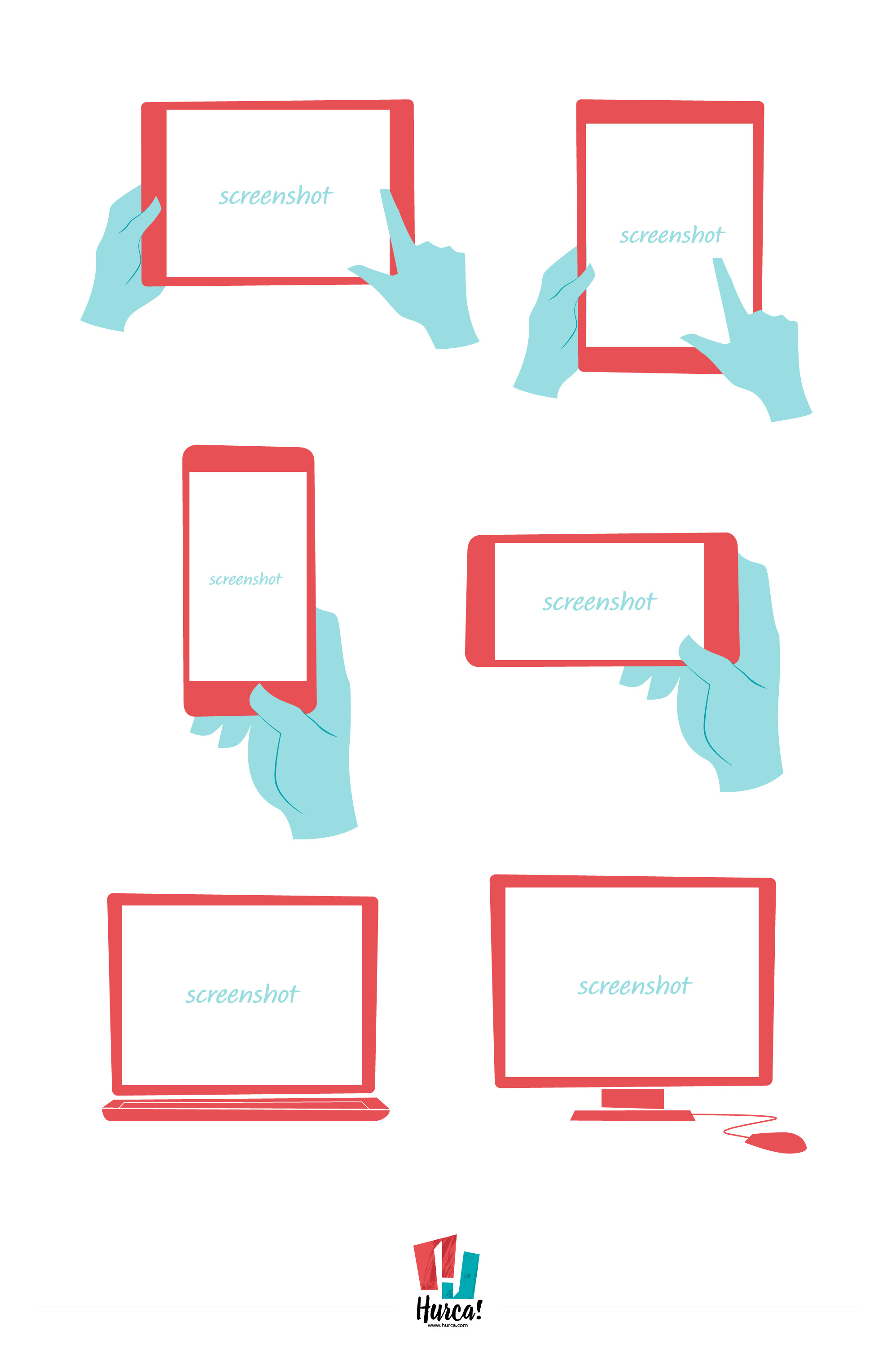 Download Multi device frames vector art series and put your screenshot inside
