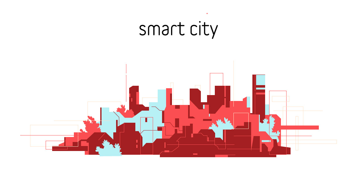 Download Smart City Collection Vector Art
