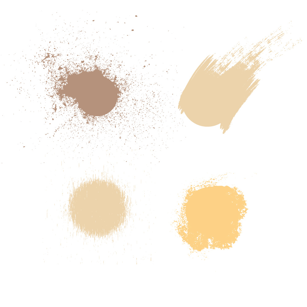 Brushes color palette