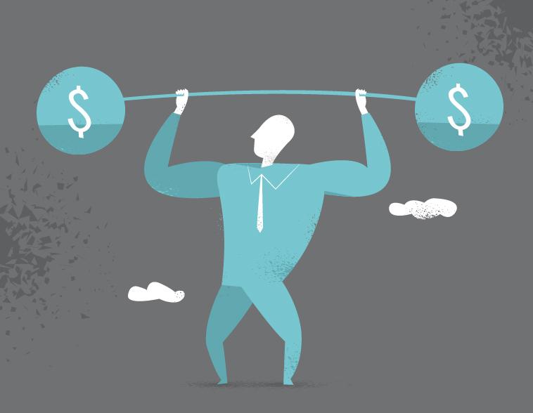 Business Weight Vector Art Series