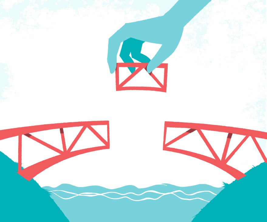 Download Building the Bridge vector Art