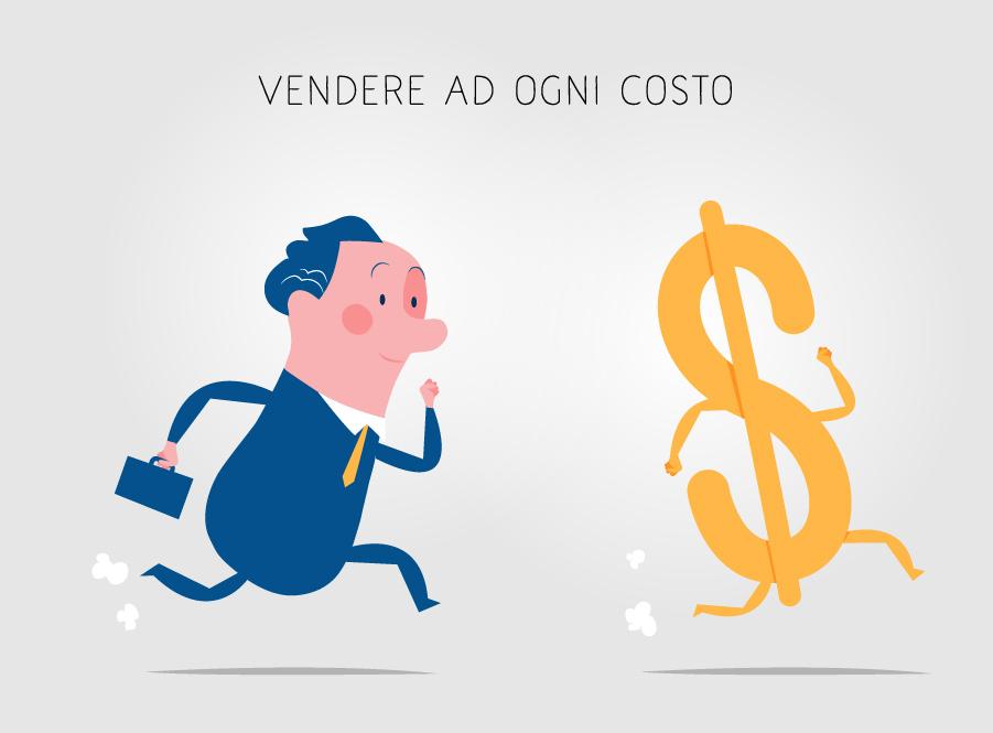 Chasing money vector art
