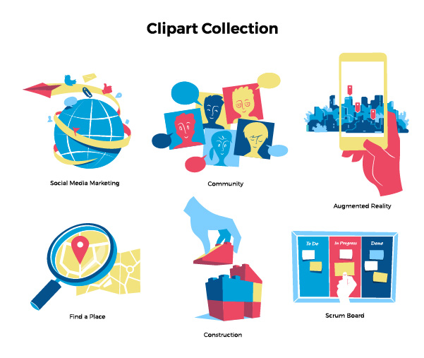 Download Clipart Collection Vector Art by Hurca.com