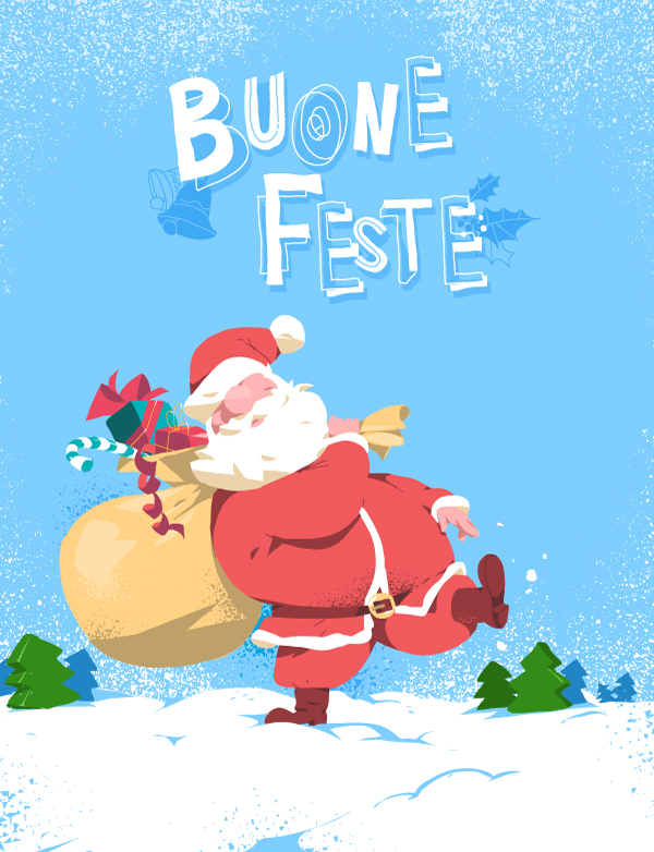 Download Santa is Coming Vector Art by Hurca.com