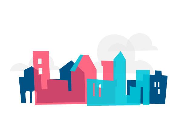 Download Cartoon Town Vector art Series