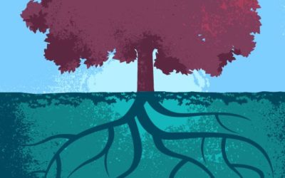 Tree and Roots Free Vector Art