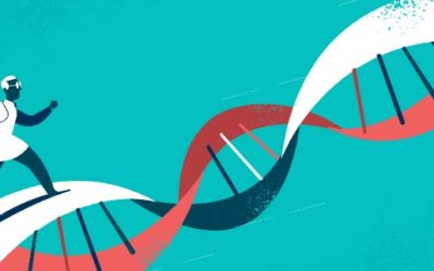 Progress on DNA Research Free Vector Art