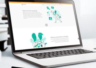 Digital Catalogue Software Website