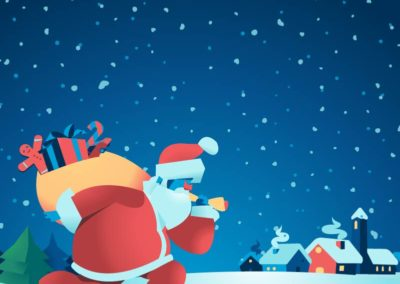Download Santa is Coming Bundle Vector Art by Mirko Grisendi