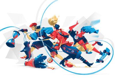 Impactful illustration by Hurca!