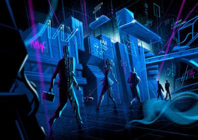 Distopic Future illustration