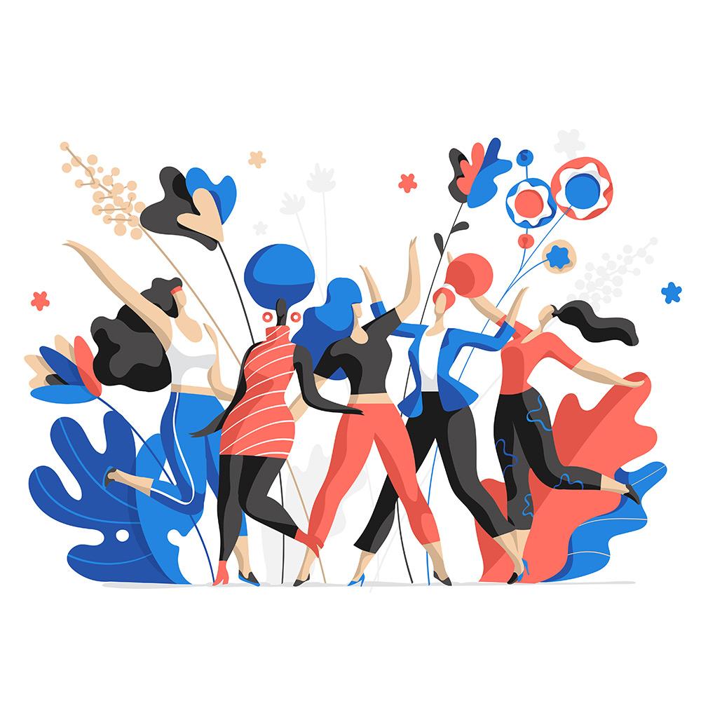 Women Fest Vector Illustration by Hurca!