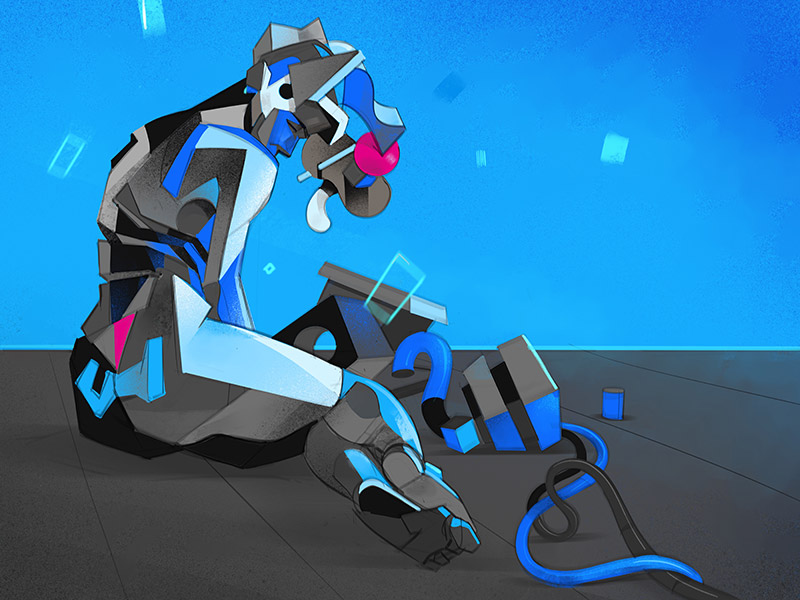 Plastica illustration by Hurca!